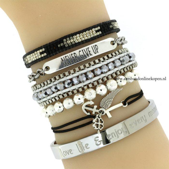 Cuff Armband Zilver