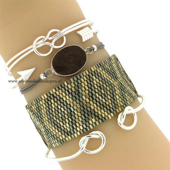 bangles cuff armbanden zilver goedkoop kopen