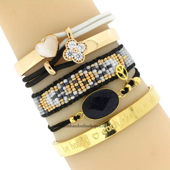 gem stone armband halfedelstenen