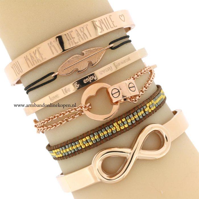love armbanden infinity bangles quote armcandy