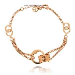 subtiele love armbandje rose goud hart ring