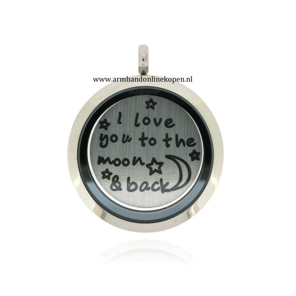 I love you to the moon and back munt hanger gratis munt