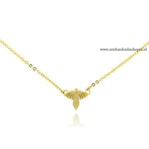 armbandje phoenix vleugel goud