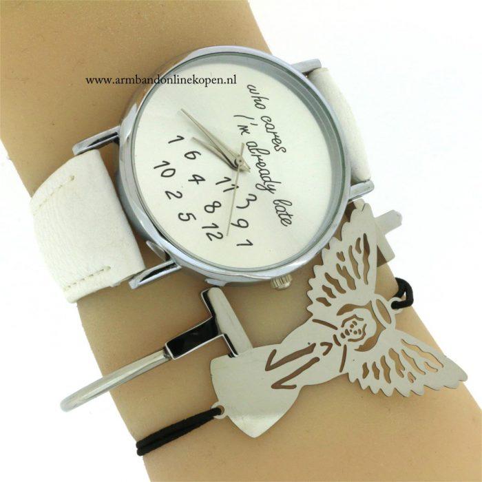 beschermengel armband rvs