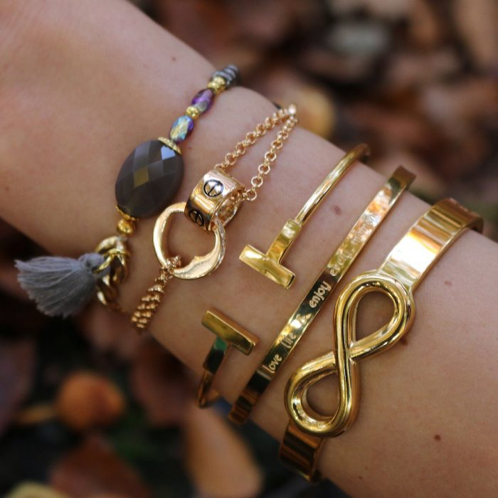 love armband infinity quote bangles mix en match
