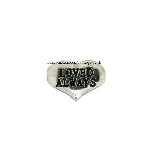 loved always bedel munt hanger