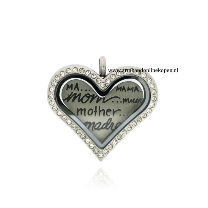 munt hanger liefde voor je moeder