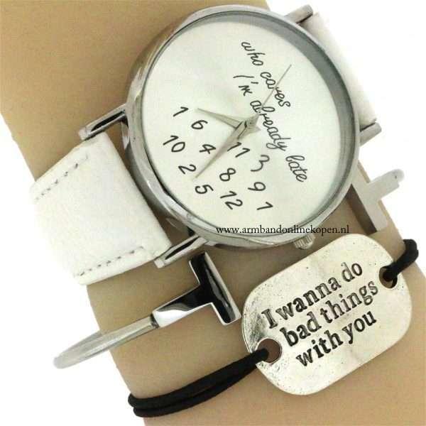 quote armband armcandy horloge