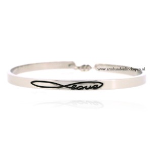 quote armband infinite love