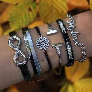 quote armbanden bangle rvs online kopen