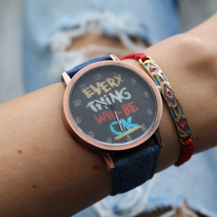 quote horloge aztec armbandje