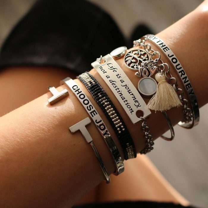 Quote armbanden life zilver armcandy
