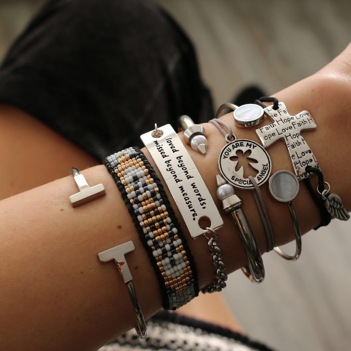 Quote armbandje you are my special angel zilver