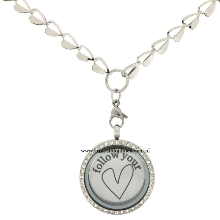 My Lucky Charm Ketting Open your Heart