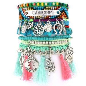 quote ibiza armband Don t Dream your Life Live your Dreams