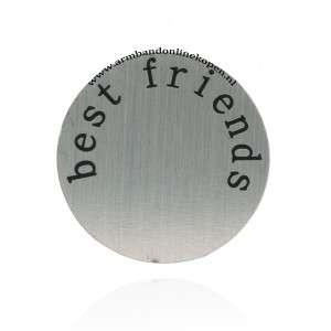 rvs munt best friends munt hanger