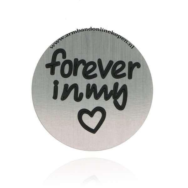rvs munt forever in my heart munt hanger