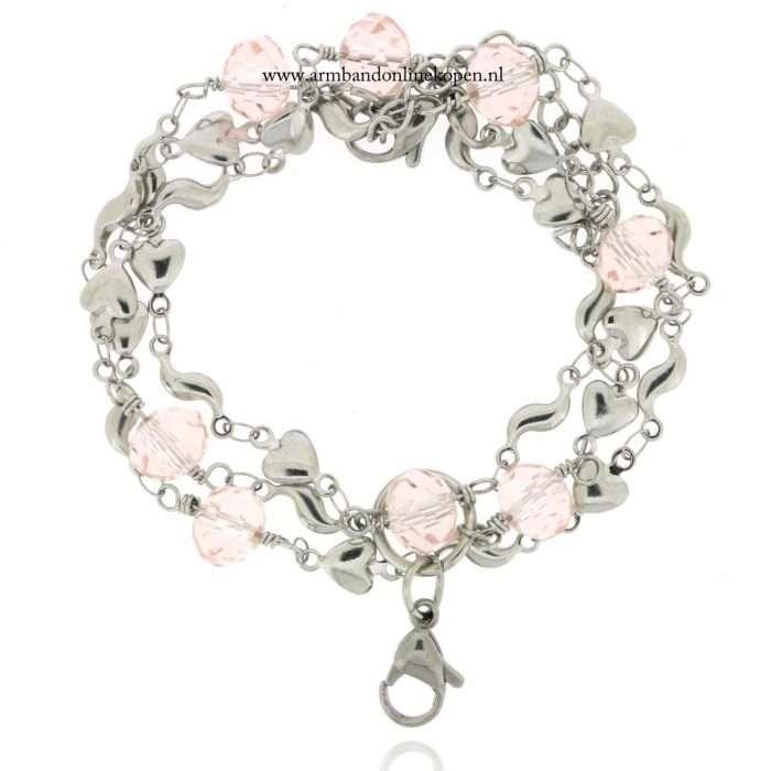 My Lucky Charm Ketting Pink Quartz Love Bonds