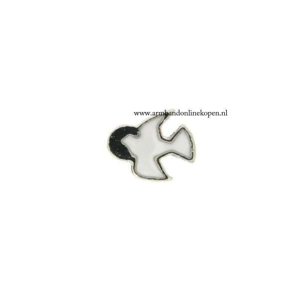duif bedel voor munt hanger of armband