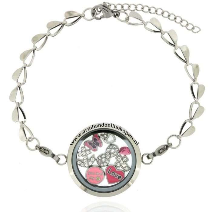 geloof hoop en liefde armband met bedels 2016 collectie