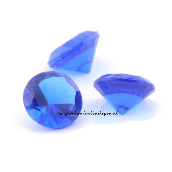 steen royal blauw voor munt hanger