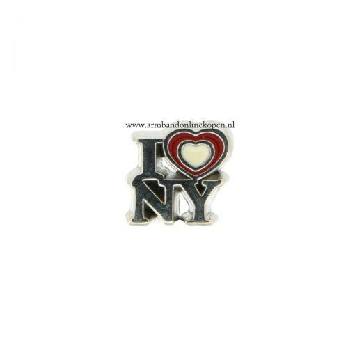 I love NY bedel voor armband of hanger