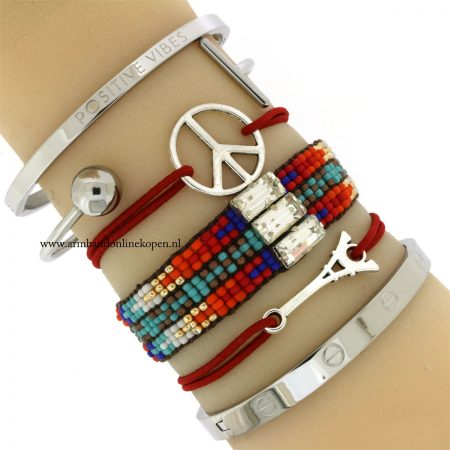 peace and love armbandjes 2016
