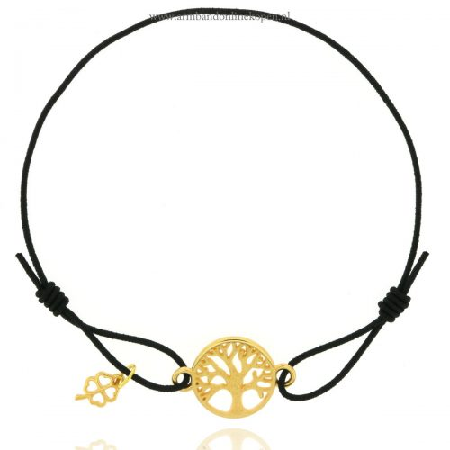 geluks armband levensboom goud