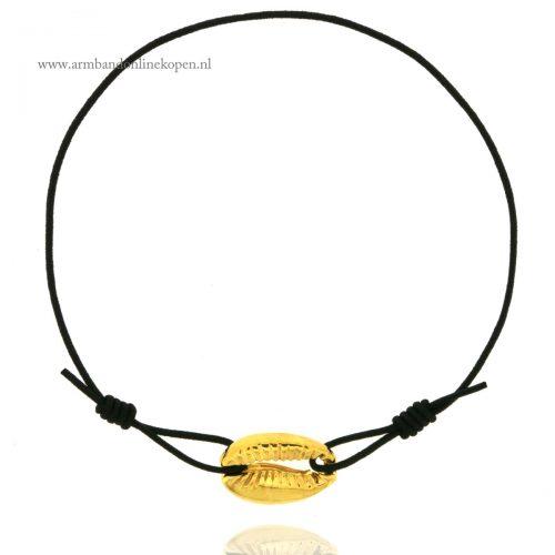 ibiza armbandjes met schelp goud zwart online kopen