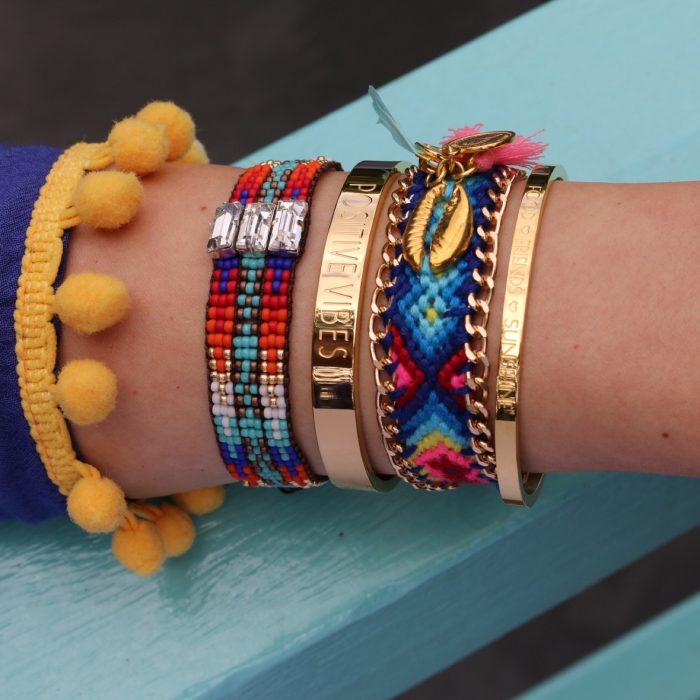 ibiza armbandjes met schelp zomer armbandjes