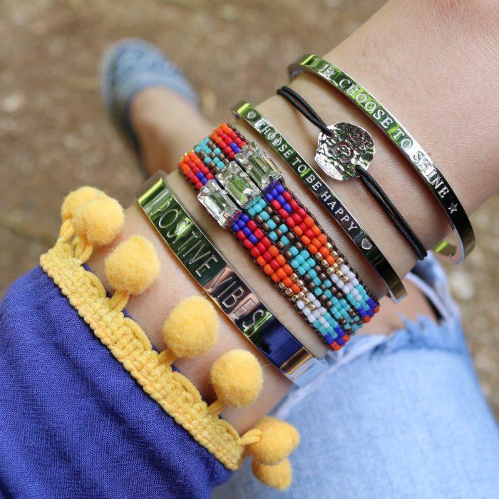 armbandjes initiaal letter G zomer armbandjes ibiza