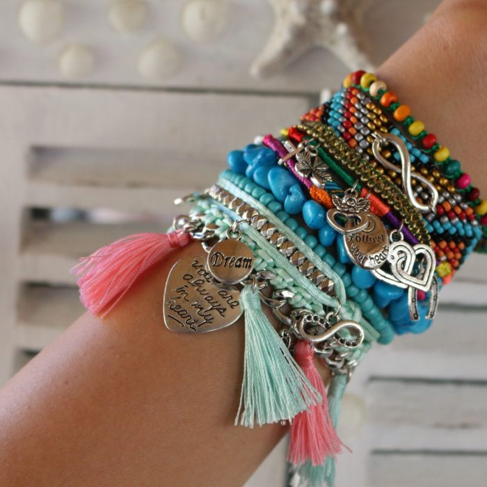 ibiza armband infinity follow your heart