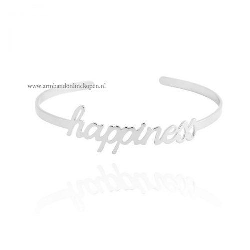 armband happiness zilver goedkoop kopen