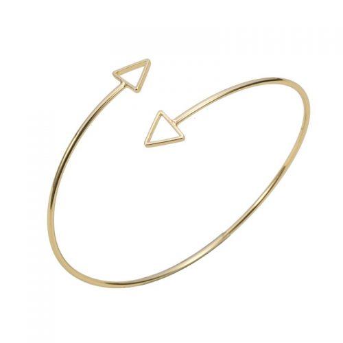 armband minimalistisch triangel goud