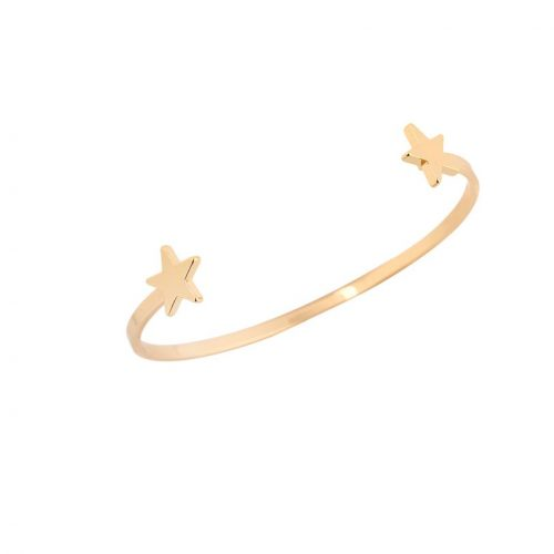 bangle armband sterretjes goud