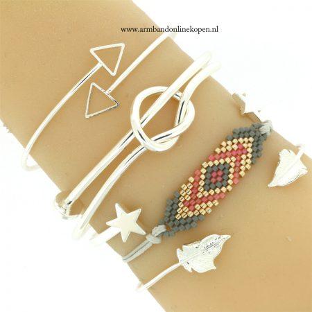 minimalistische zilver armbandjes goedkoop kopen