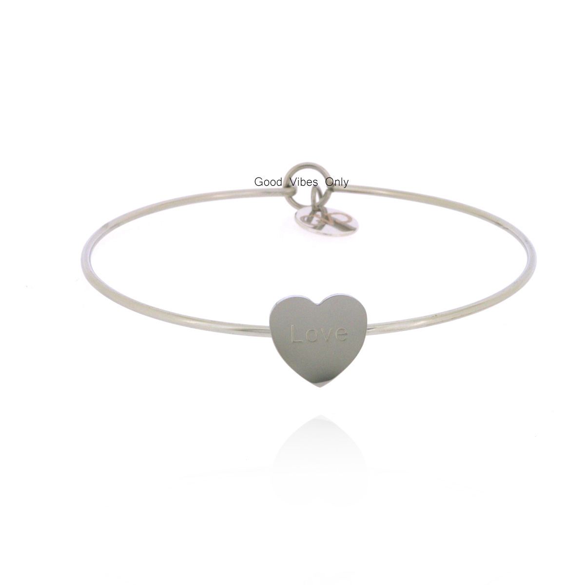 good-vibes-only-armband-staal-hart-zilver