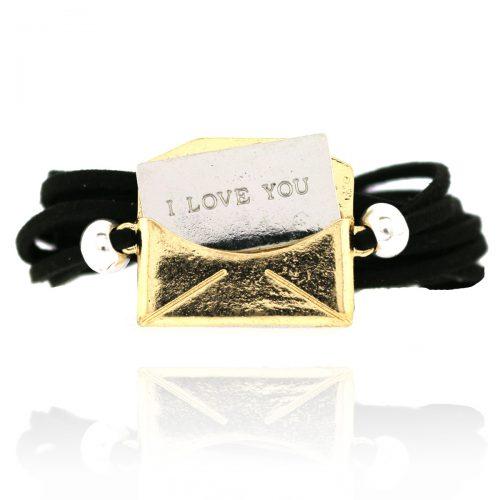 Wikkel Armbandje Love Letter