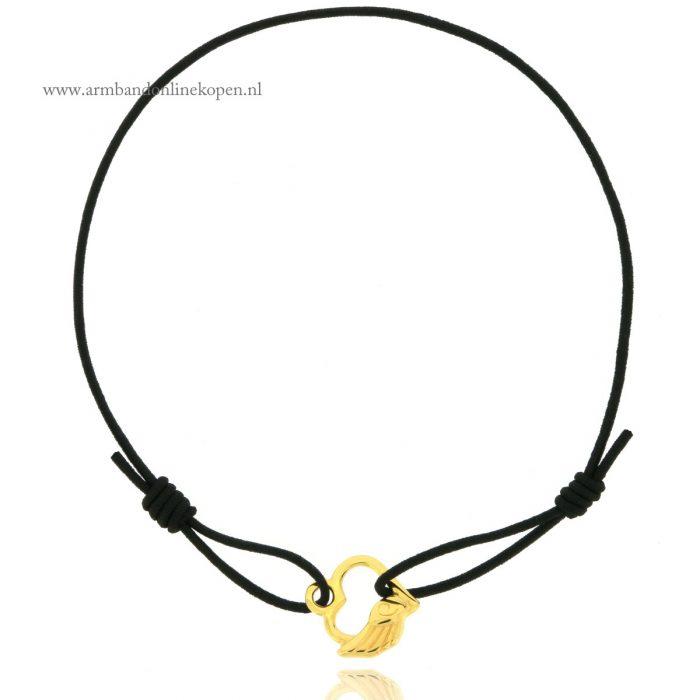 armband-beschermengel-hartje-goud