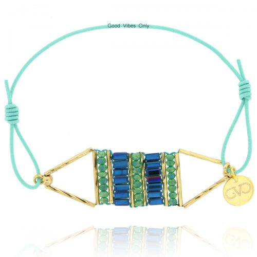 armband-kraaltjes-aqua-blue-denim-good-vibes-only