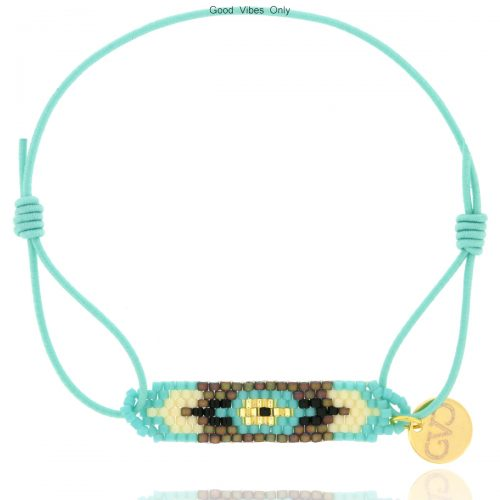 armbandje-aztec-aqua-goud