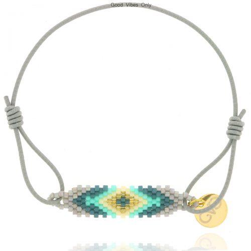 armbandje-aztec-grijs-goud