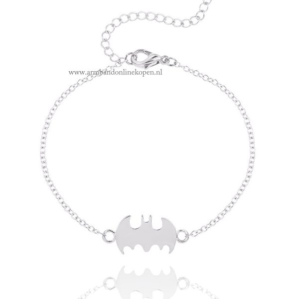 batman-logo-armbandjes-zilver