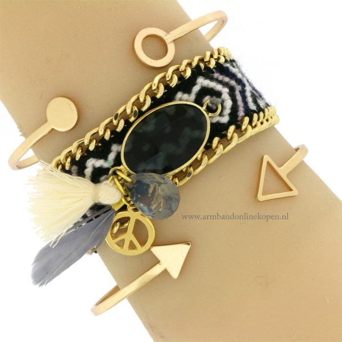 boho-armbandje-facet-steen-bohemian-rhapshody