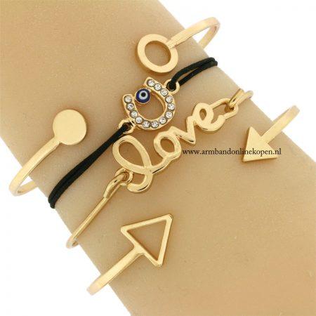 geluks-armbandje-hoefijzer-boze-oog-goud
