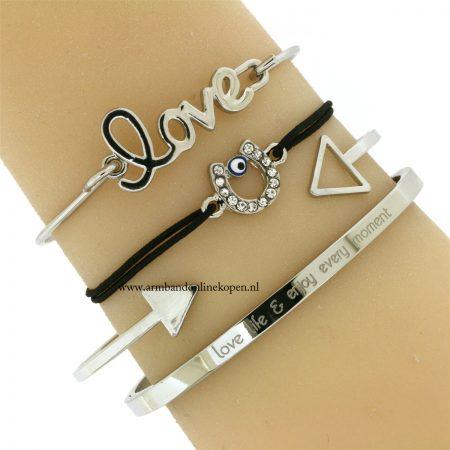 geluks-armbandje-hoefijzer-boze-oog-zilver