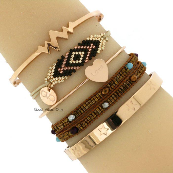 glimmende-kraaltjes-armbanden-roze-goud-armparty