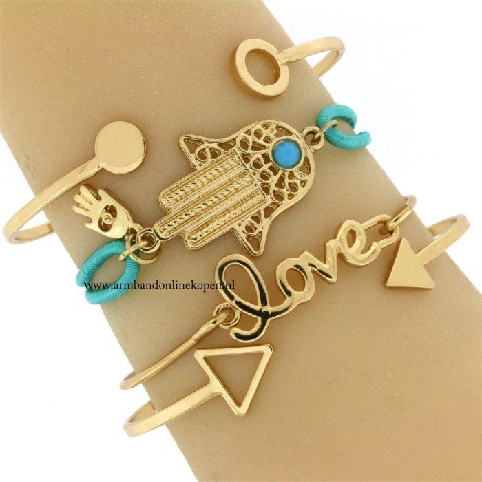 hamsa-hand-armband-mint-goud-geluks-armband
