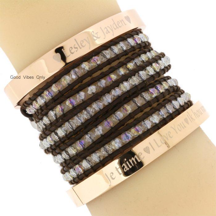 kinderen naam armband eigen tekst armbanden