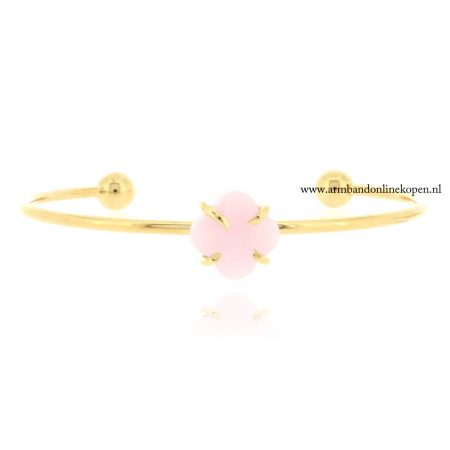 lucky-clover-armband-facet-steen-roze-quartz